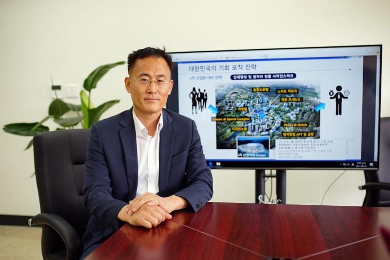 이흥노 GIST연구원장은 GI 캠퍼스가 우수인력을 혁신 생산인구로 탈바꿈시킬